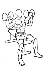 dumbbell-shoulder-press-oefening-uitvoering-start