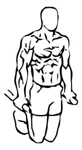 tricep-dips-lichaamsgewicht-uitvoering-beginstand
