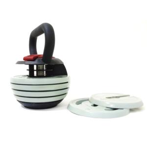 focus fitness verstelbare kettlebell 3 tot 18kg krachttraining infoverstelbare kettlebell van focus fitness verstelbare russische kettlebell