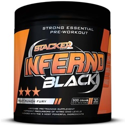 Stacker Nve Inferno Black Pre Workout Zonder Creatine