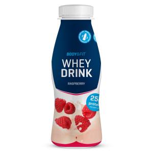Whey drink body en fitshop frambozen