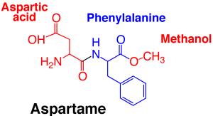 aspartaam-molecuul