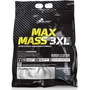 max mass 3xl weight gainer van olimp