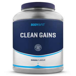 clean gains weight gainer body en fitshop