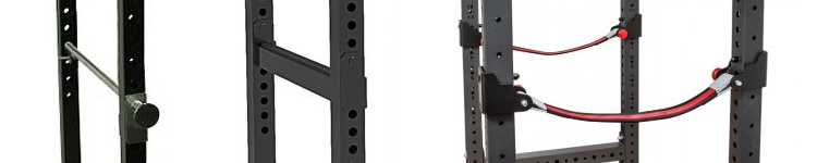 power rack verschillende safeties