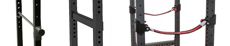 power rack verschillende safeties