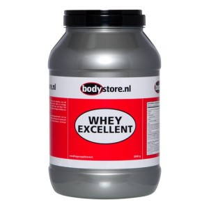 whey excellent eiwitshake bodystore review