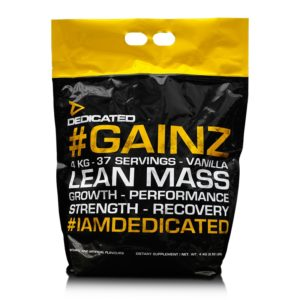 dedicated nutrition #gainz lean mass kopen