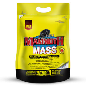 Mammoth 2500 / Mammoth Mass weight gainer