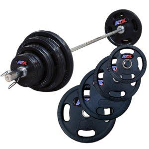 140 kg Olympische halterset ATX rubber