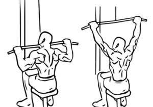 lat pulldown oefening uitvoering