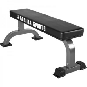 gorilla sports vlakke fitnessbank