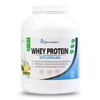 muscle concepts whey protein banaan