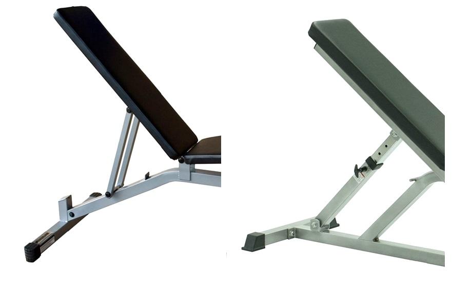 verstelbare fitnessbank stabiliteit