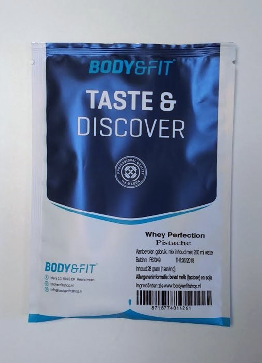 Body en Fitshop whey perfection review