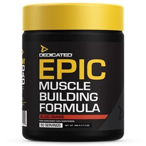 Dedicated Nutrition Epic Pre Workout