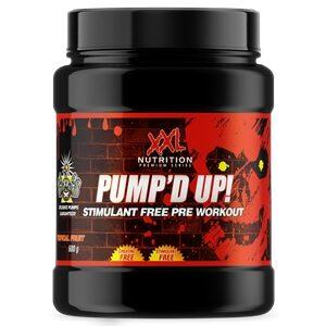Pump D Up Xxl Nutrition Pre Workout Zonder Caffeine